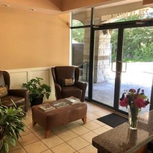 Cooper Family Law Reception Area